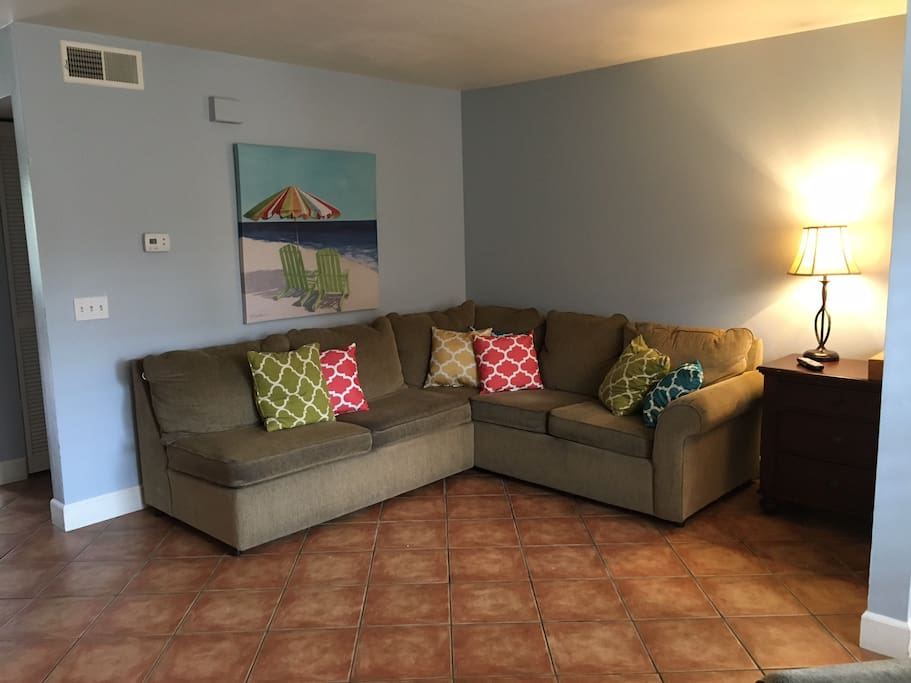 Family room seating.