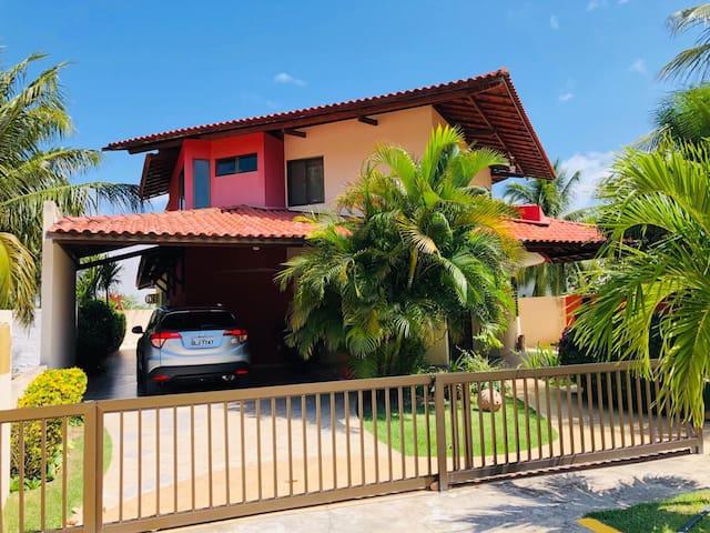 Casa de Praia Completa na Barra de São Miguel/AL