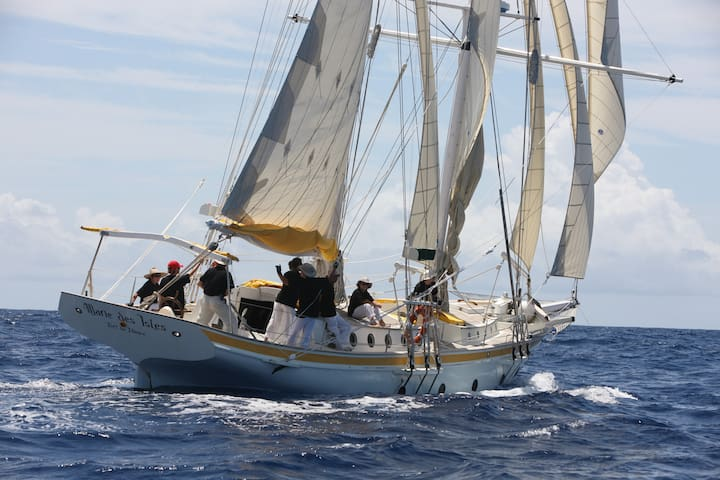 Sail boat Marie des Isles Antigua