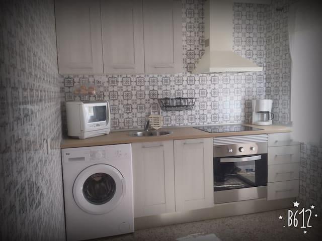 Luminoso y tranquilo apartamento en zona centro. - Alcalá de Henares - Huoneisto