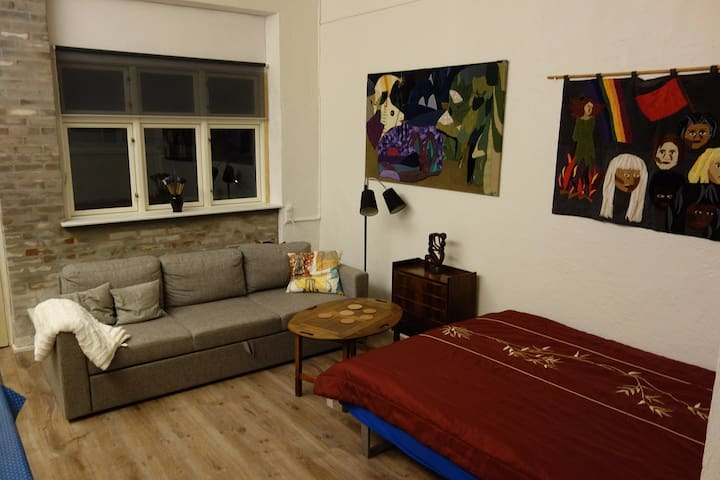 Lovely flat former gallery in the heart of Aalborg