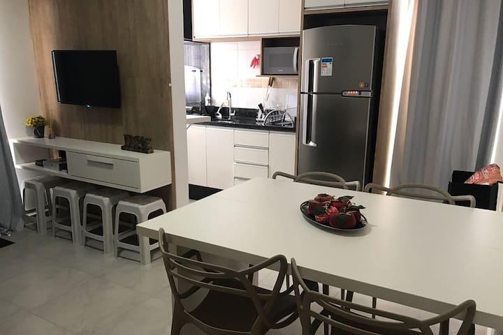 Apartamento Novo para até 6 pessoas - Ingleses