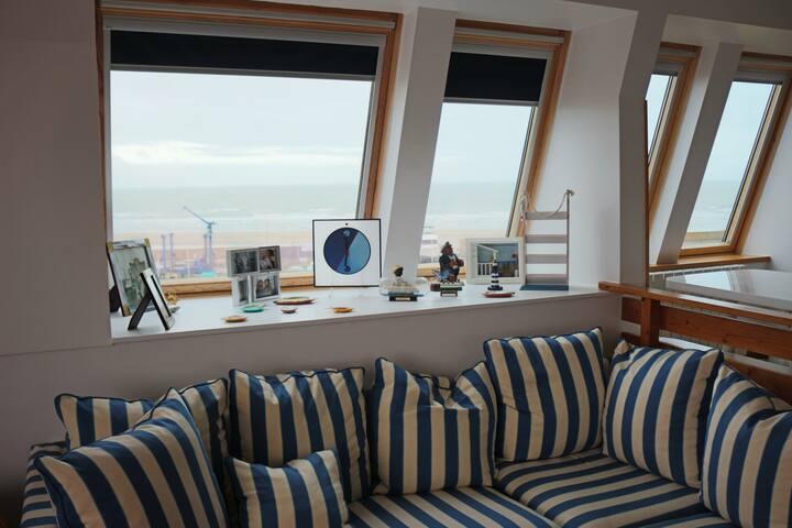 Très beau duplex comme un bateau - Deauville - Byt