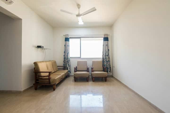 Thane-Mumbai:1 BHK Apartment w/ Pool&Creek Views