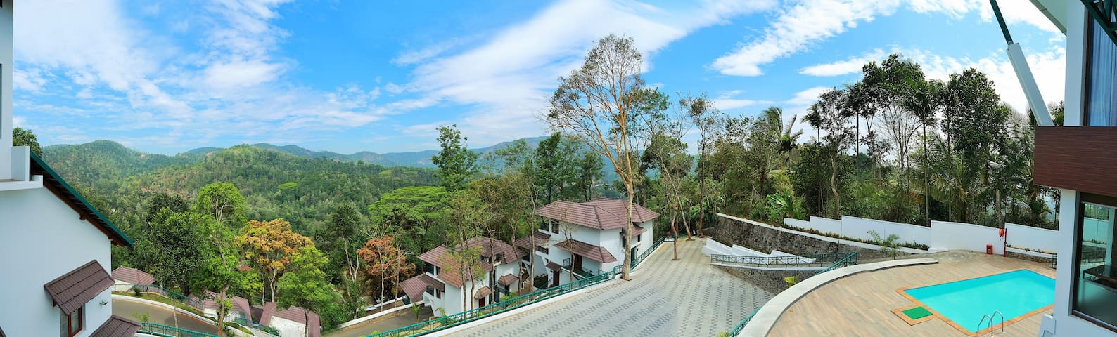 Forest area Tulip Deluxe cottage in Thekkady