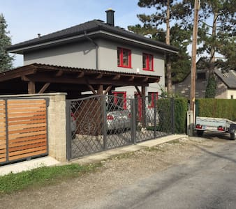 Your own house-4rooms -4beds garden - Vienne