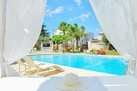 Villa Con piscina idromassaggio vicino Ostuni - San Michele Salentino