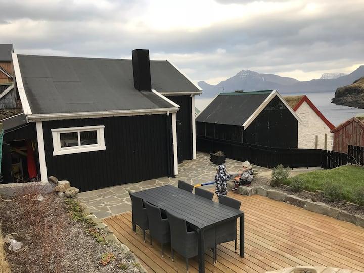Cosy house in Elduvík
