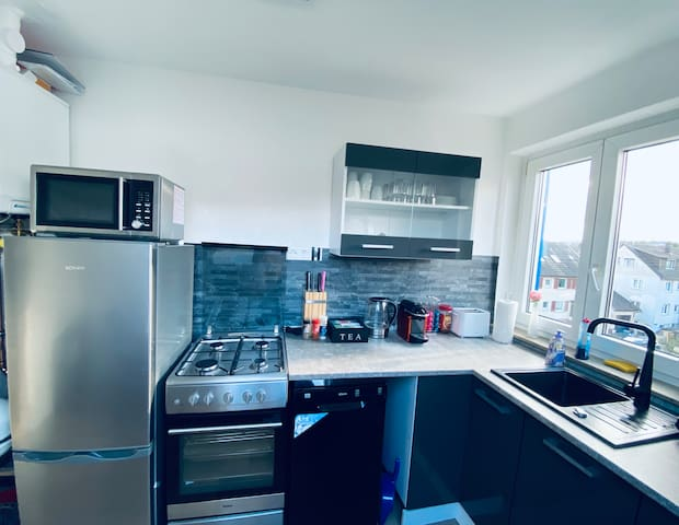 Cosy and simple apartment near airport fair