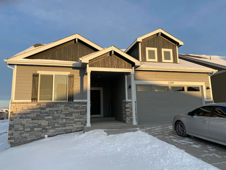 Brand new home in West Greeley