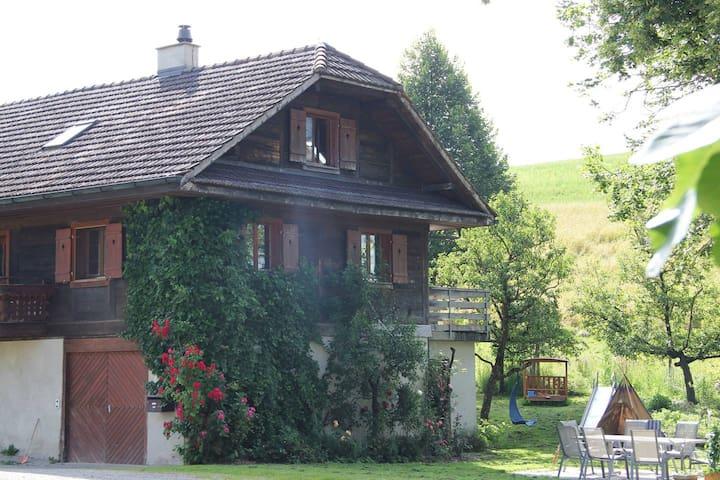 Gästezimmer auf Bio Bauernhof - Grosswangen - Ev