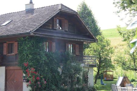 Gästezimmer auf Bio Bauernhof - Grosswangen