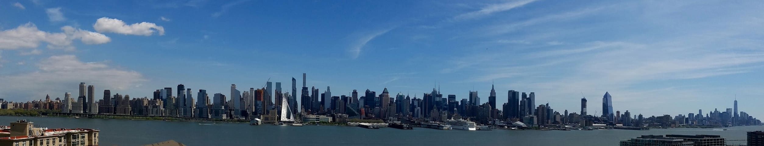 Place with breathtaking view of Manhattan - West New York - Wohnung