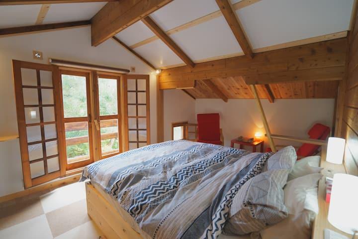 Alpages -【Couple Sweet Room】木のぬくもりと自然の中で癒しの空間を楽しむ♪