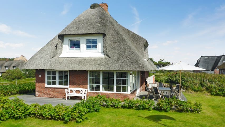 Sunny house 400m from the beach - Sylt - Huis