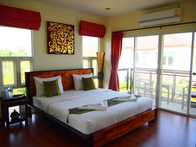 1 double-bed room of pool villa - Chiangmai - Villa
