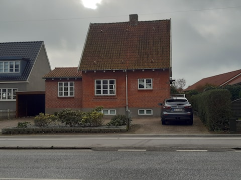 accommodation  800 meters to the center of Middelfart.