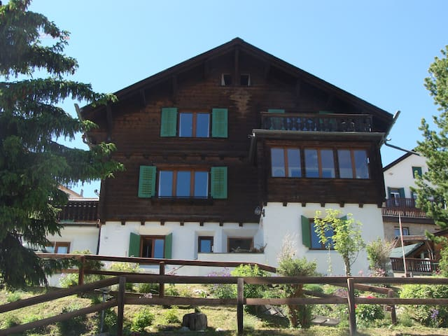 Spacious apartment in a typical chalet