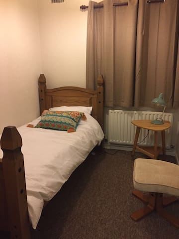 Single BR in spacious, comfy house, great views - Fulbourn - Huis