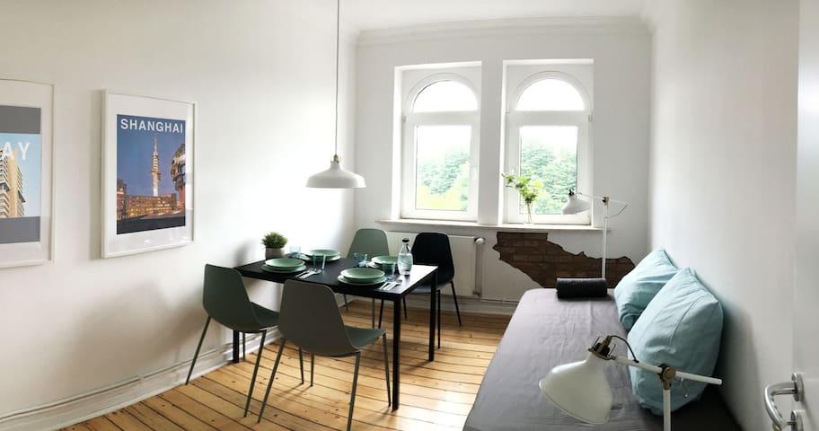 Charmante, moderne Altbauwohnung im Herzen Lindens