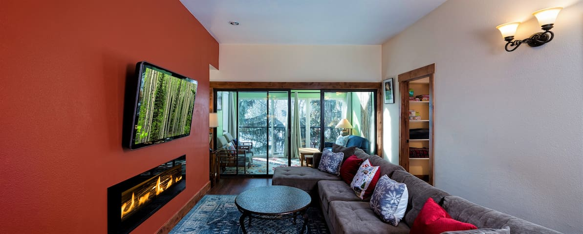 3 BR/sleeps 8, Beaver Creek: 1 mile & Vail: 8 mile