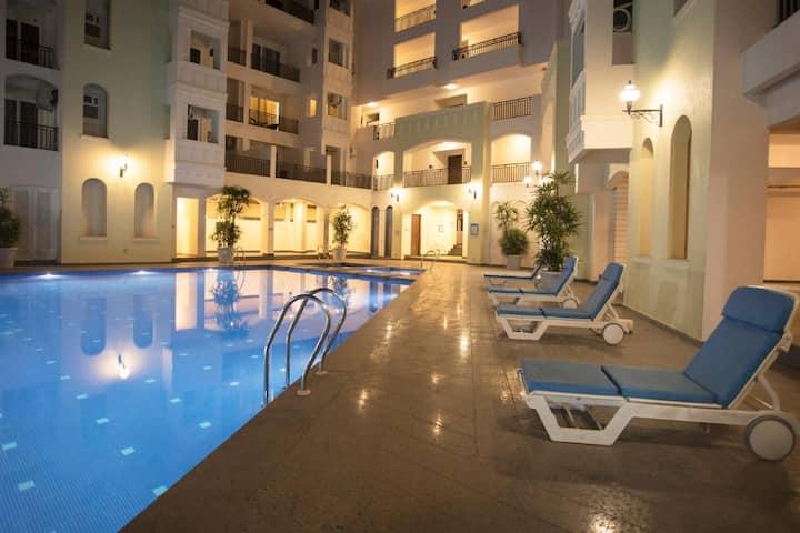 Luxurious 2 BHK Apartment -  beaches nearby