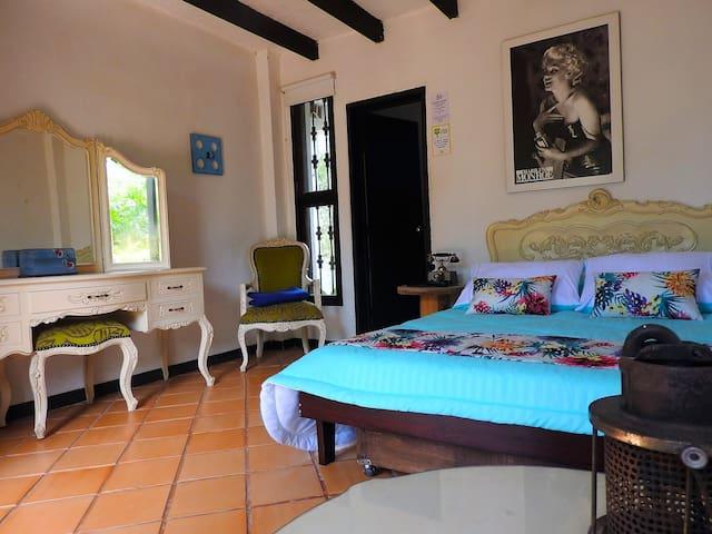 Habitación 2 personas. Hotel Campestre Villa Juana