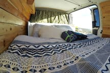 Comfy Bed. Your moving apartment at nature