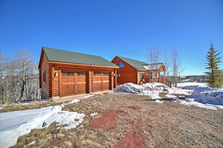 NEW! 3BR Fairplay Cabin on 5 Acres of Open Land!