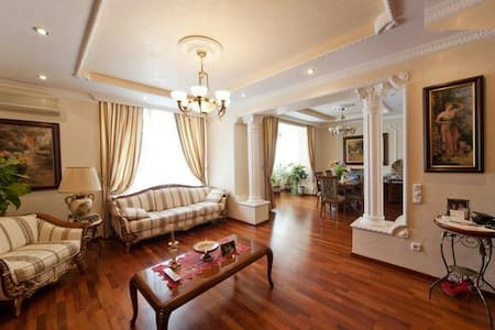 VIP 3 level Penthouse in city centre with terrace - Kyiv