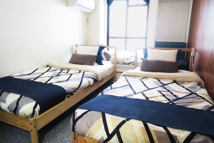 \\\New open!Osaka cozy Apartment set in Abiko///