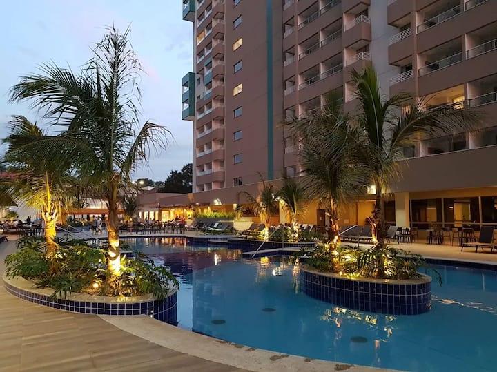 Apartamento resort em Olímpia/SP