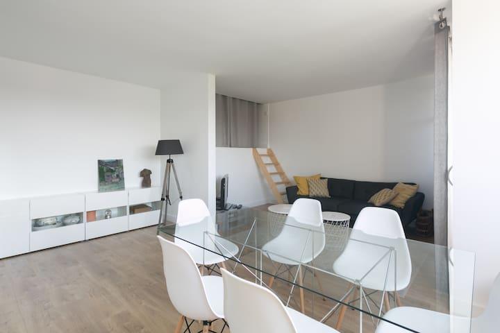 Joli Duplex rénové à neuf de 72m²