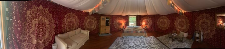Magical Yurt @ Sugar Creek Sanctuary