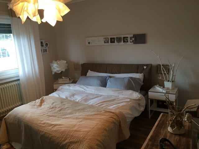 Chambre double dans un appartement - Junglinster - Apartamento