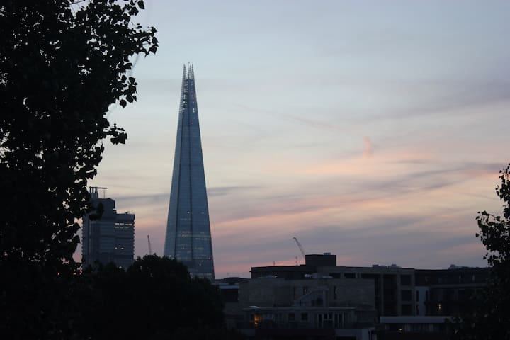 Shard View Apartment with friendly & healthy hosts