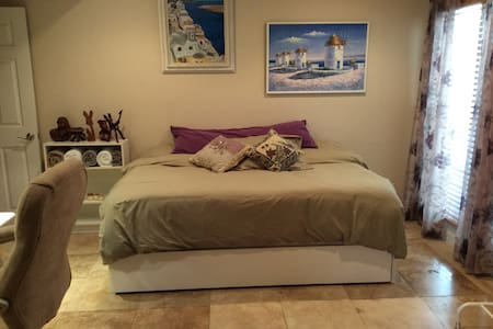 Comfy Bedroom & Blissful Bathroom - Calabasas