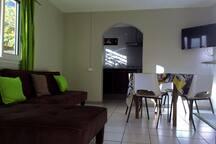 Maison de Vacance 4 pers Centre-Ville de Cilaos