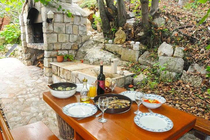 A place to rest or recreation Mljet