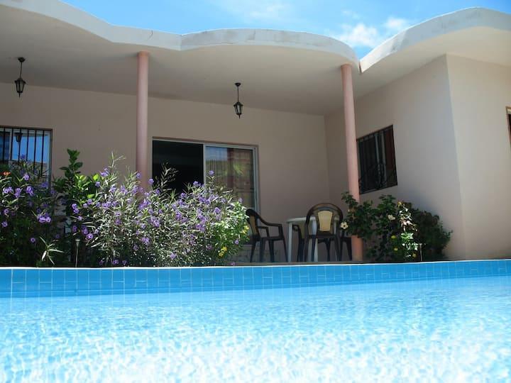 Ker Tukki au Sénégal (piscine privée + 500m plage)