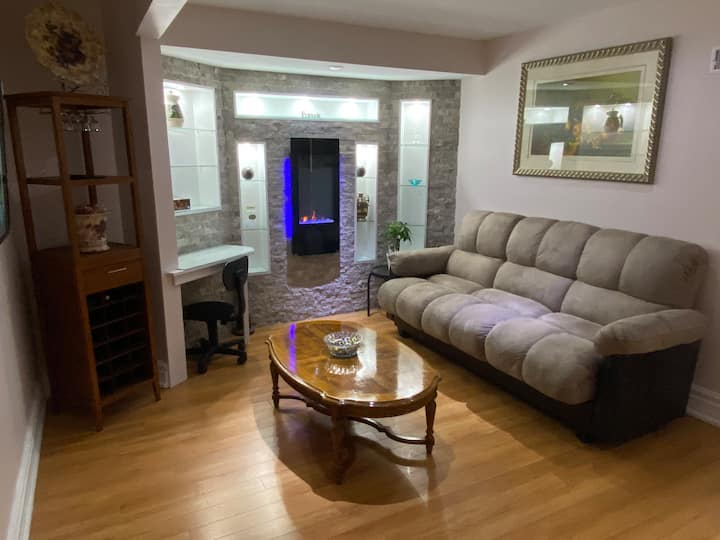 Newly renovated apartment in Mississauga.