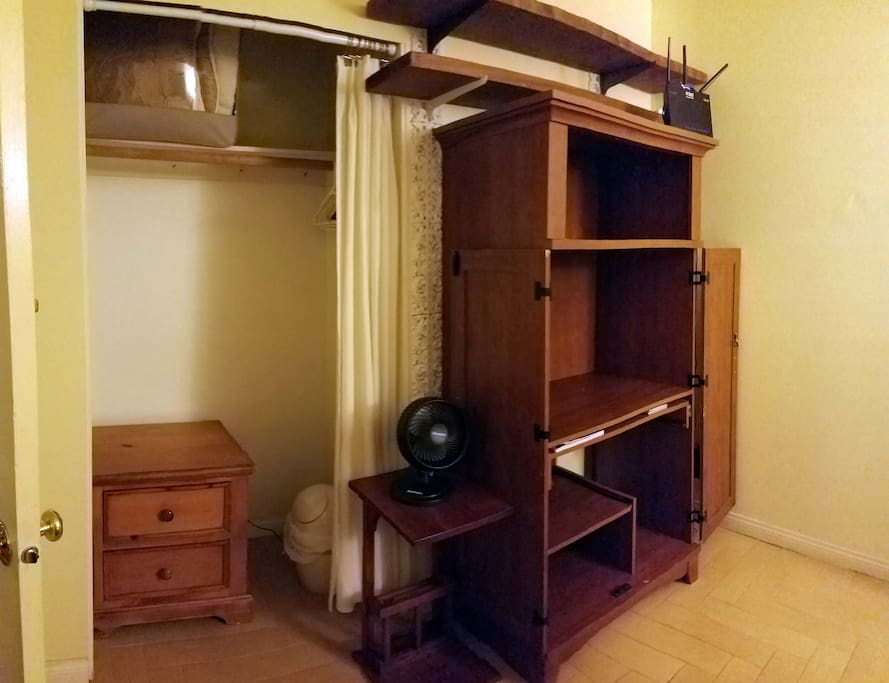 Your Room - Desk and Closet