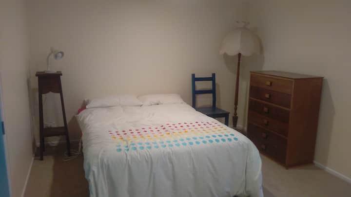 Warm comfortable double room