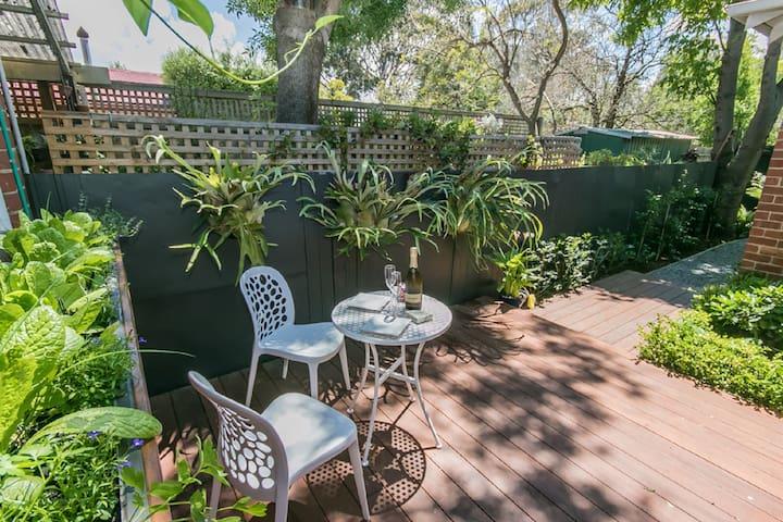 Private Bayside Garden Gem ! - Elwood - Hus