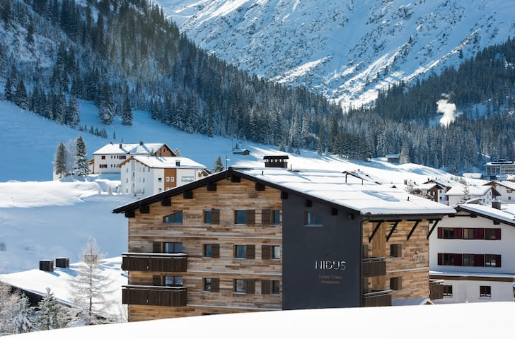 Nidus Apartment 2 - brand-new luxurious apartment in the heart of Lech