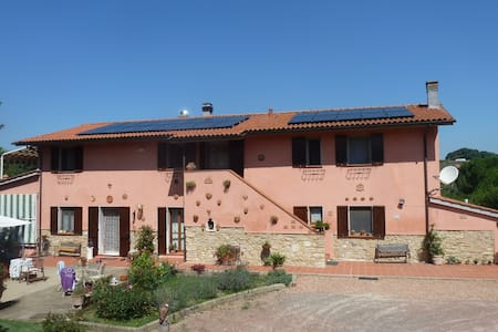 Idyllic typical Tuscan farmhouse - Casciana Terme - Apartamento