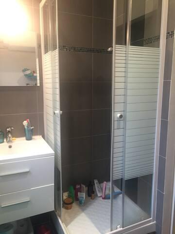 Sale de bain (douche)