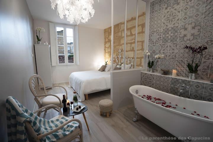 Chambre d'hôtes Romantique Luxe - Bordeaux Centre