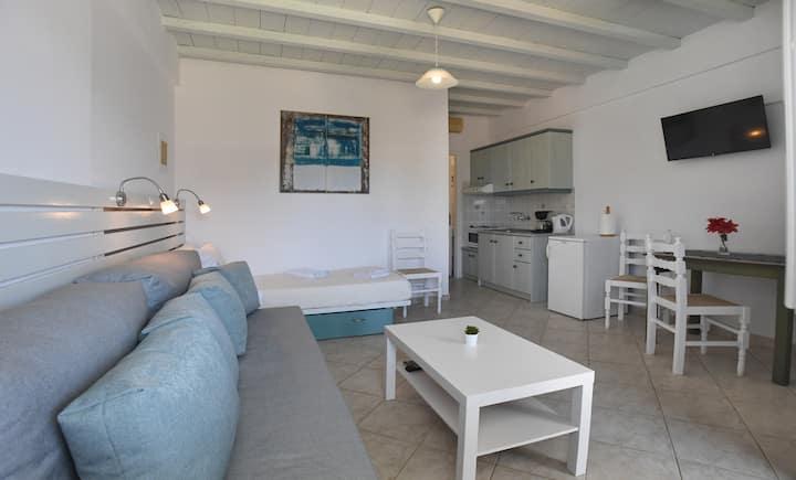 "Coastal apartment at ""Nostos"""
