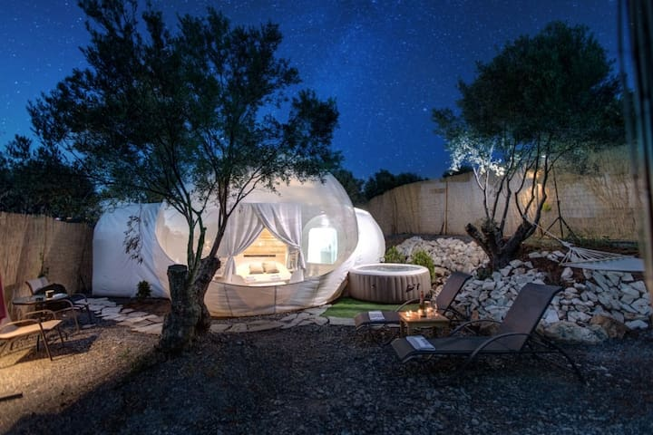 Luxury Bubble Suite 3 with Private Spa